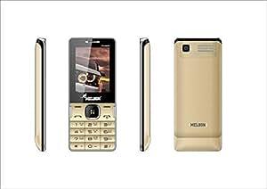 Melbon Dude 88 Moblie Phone (Dual Sim,  Golden)