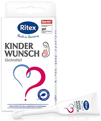 Ritex Kinderwunsch Gleitmittel 8 Applikatoren á 4 ml, 1er Pack (1 x 8...