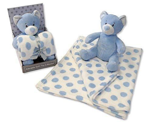 Cadeau bébé - Couverture pour bébé doux et peluche Ensemble