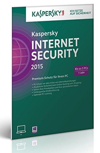 Kaspersky Internet Security 2015 - 3 PCs (Frustfreie Verpackung) (Antivirus-software 2015)