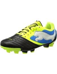 Puma PowerCat 3 FG Jr - Zapatos de fútbol de cuero infantil