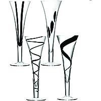 LSA International - Juego De 4 Copas De Champán Jazz