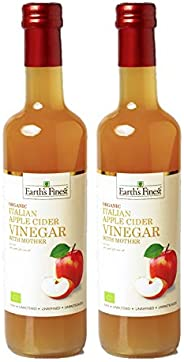 Earth's Finest Organic Apple Cider Vinegar with Mother 500 ml Pack