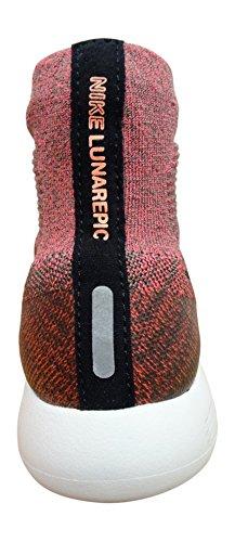 Nike Wmns Lunarepic Flyknit, Scarpe da Corsa Donna Dk Mushroom/Bla
