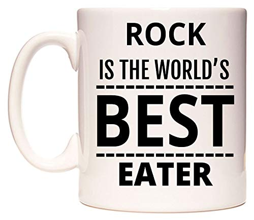 ROCK Is The World's BEST Eater Becher von WeDoMugs