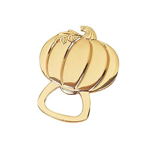 Wozow apribottiglie cavatappi apribottiglie d'oro strumento in lega a forma di zucca souvenir di regali per feste di matrimonio