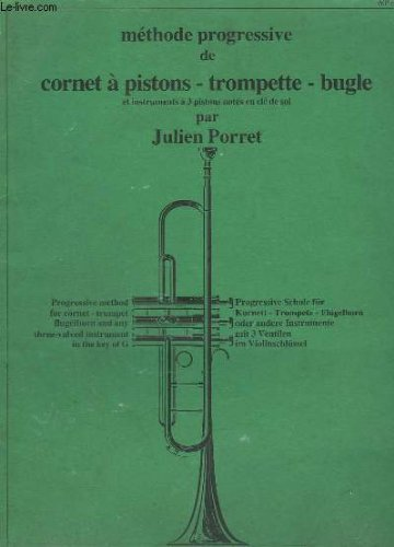 porret-j-methode-progressive-de-conet-a-piston-trompette-bugle-para-trompeta