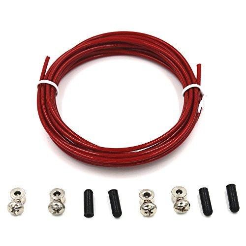 3Meters-Spare-Rope-2-Pairs-Spare-Screw-for-Crossfit-Jump-Rope-Replacing-Speed-Rope-Steel-Wire-Red-Black-Green-25mm-Diameter-Red