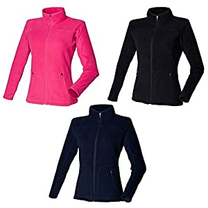 41VGJtuC%2B6L. SS300  - Skinni Fit New Womens Ladies Fitted Micro Fleece Jacket