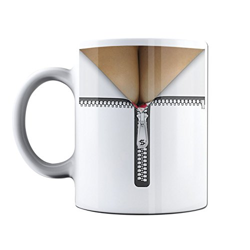 funny-neuheit-bedruckte-tassen-reissverschluss-brust-dekollete-funny-office-rude-naughty-kaffee-bech