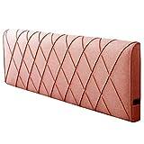 GUOWEI Bettseite Kissen Polster Ohne Kopfteil Keil Rückenlehne Unterstützung Schwamm, 5 Farben, 5 Größen (Farbe : Orange, größe : 150x58x10cm)