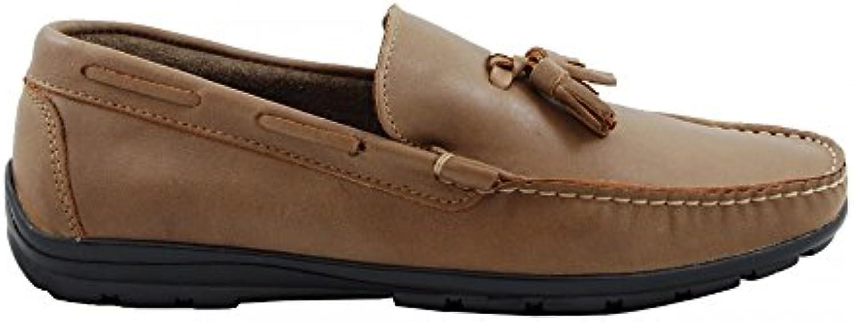 Benavente Mocasín Borlas Piel Visón  Zapatos de moda en línea Obtenga el mejor descuento de venta caliente-Descuento más grande