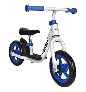 Urban-veubrb005-000WB-Bicicleta sin Pedales niño-Blanco/Azul