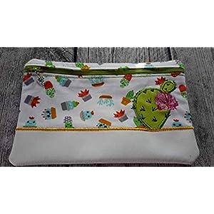 E-Book Tasche, Mäppchen, Kosmetiktasche Kaktus