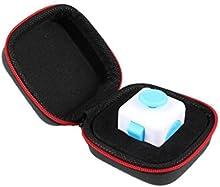 kingko dados bolsa caja, regalo para Fidget cubo ansiedad estrés socorro Focus dados caja de bolsa funda de transporte paquete