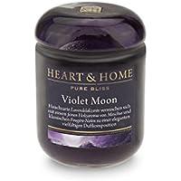 Heart & Home Duftkerze Klein Violet Moon - 115 g preisvergleich bei billige-tabletten.eu
