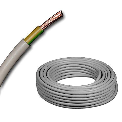 Meterware Erdkabel NYY-J 1x16 mm² RE schwarz Erdungskabel Blitzschutz grün/gelb Schnittlängen - jede Menge eine Länge