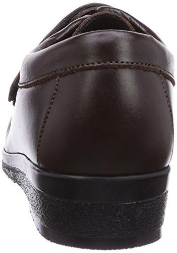 Fischer Damen Bequem-Schuh Damen Mokassin Braun (braun 777)