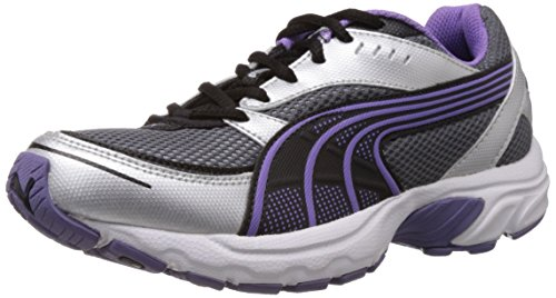 Puma Women's Axis II Wn s DP Black, Dahlia Purple and Puma Silver Running Shoes - 4 UK/India (37 EU)  available at amazon for Rs.1458