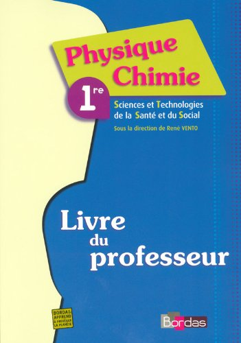 Phys-Chimie 1re Stss Vento Pro par Collectif