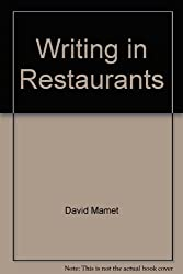 Title: Writing in Restaurants