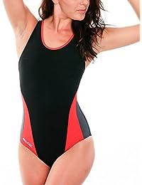 ff78ef59dbd8 Aqua Speed Damen Badeanzug - Trainingsanzug - Sportbadeanzug- UV-Schutz -  Sehr Atmungsaktiv und