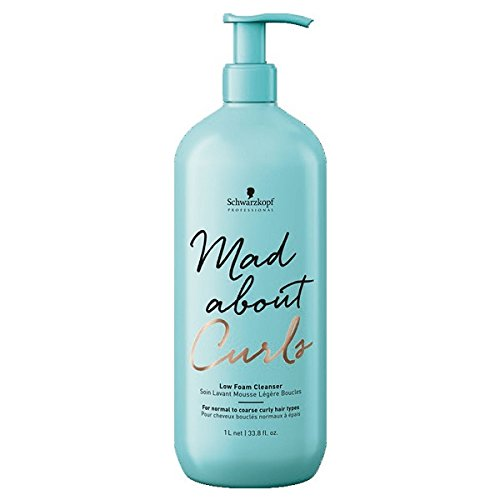 SCHWARZKOPF Mad about Curls Low Foam Cleanser Shampoo, 1er Pack(1 x 1000 ml)
