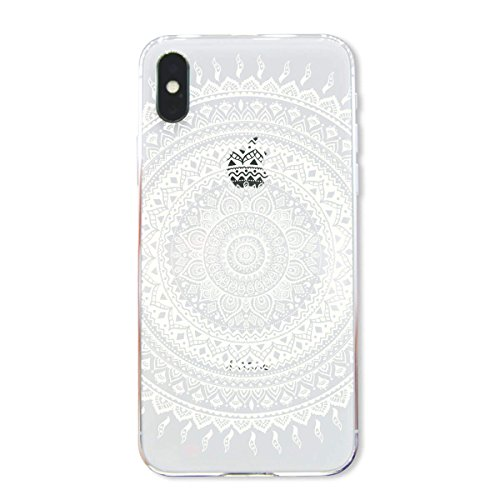finoo | Iphone X Hard Case Handy-Hülle mit Motiv | dünne stoßfeste Schutz-Cover Tasche in Premium Qualität | Premium Case für Dein Smartphone| Fuck You Herz Kringel Henna 1