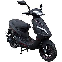 Alpha Motors Mofa Sportstar 50 ccm, 25 km/h, entdrosselbar, mit Topcase und Zubehör