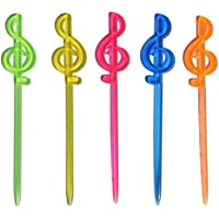 PANDA SUPERSTORE [Música] 200 Pcs Party Supply desechables Cocktail Plastic Bar Tool