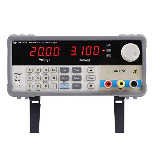 Netzteil, IVYTECH IV-6003 Hochpräzises programmierbares 60V 3A DC(EU plug)