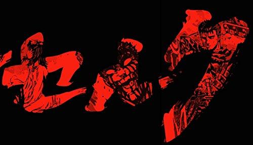 Berserk 3 Anime Manga Guts 2016 / Größe XS-4XL / Ideales Geschenk Schwarz