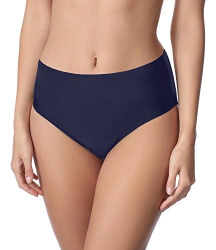 Merry Style Damen Bikini Unterteil M72W (Navy(6007), 46)