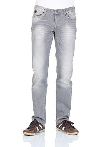 M.O.D Herren Jeans Oskar regular Straight Leg regia grey