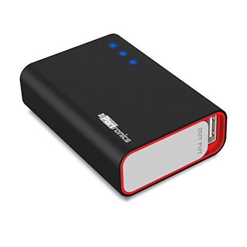 Portronics Charge One 5200mAH POR310 Power Bank (Black)