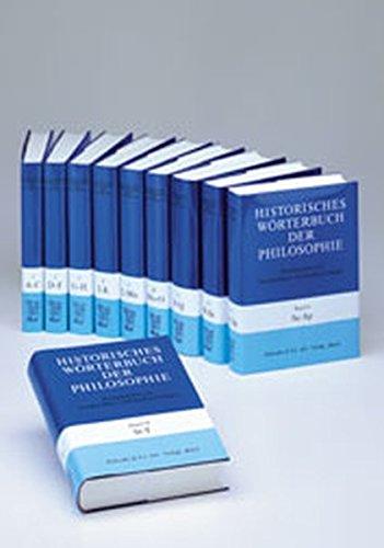 Historisches Wörterbuch der Philosophie Gesamtwerk Bd. 1-13: Historisches Wörterbuch der Philosophie, 12 Bde. u. 1 Reg.-Bd., Bd.1, A-C (Historisches Worterbuch Der Philosophie)