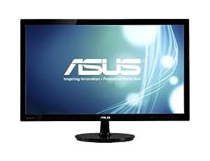 Asus VS238H-P 23-inch Widescreen LED Monitor (50000000:1, 250cd/m2, 1920x1080, 2ms, HDMI/VGA/DVI)
