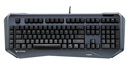 Dell-tastatur-tasten (Rapoo VPRO V800 Beleuchtete Mechanische Gaming Tastatur (Makro-Tasten, deutsches Layout))
