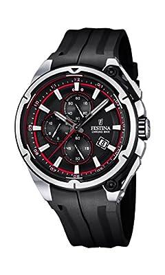 Festina F16882/8 - Reloj de pulsera hombre, Plástico, color Negro de Festina