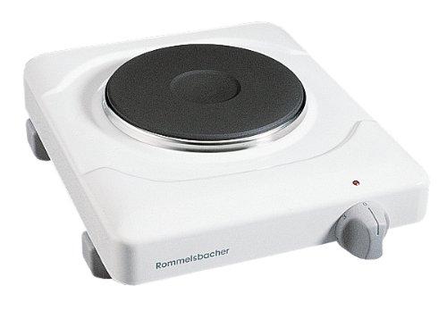 ROMMELSBACHER THS 815 - EINZELKOCHTAFEL - 800 Watt - weiß - mit Zeitschaltuhr