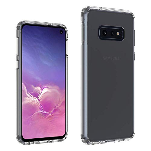 Samsung Galaxy S10 Plus Crystal Clear Stoßdämpfung TPU Bumper Kissen Cover Case Rückwand aus Hartplastik, Kratzfest, transparent, S 10 Plus stoßfest, S 10, Samsung Galaxy S10 Plus Crystal Clear Samsung Crystal