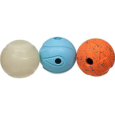 Chuckit! Fetch Medley Balls 3-Pack by Canine Hardware