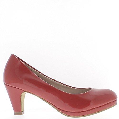 classico-rosso-scarpe-tacchi-polacchi-della-piccola-piattaforma-65-cm-38