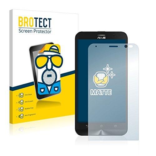 2X BROTECT Matt Displayschutz Schutzfolie für ASUS ZenFone Go TV (matt - entspiegelt, Kratzfest, schmutzabweisend)