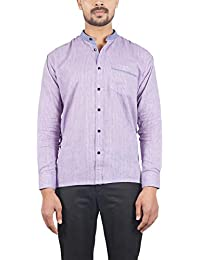 Bihar Khadi (A Bihar Govt. Enterprise Men's Shirt (Multi-Colored, 40)