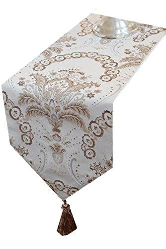 GGCCX Tischläufer Die Neuen Europäischen Stil Luxus Handtaschen , 30*180Cm (Handtasche Diamant-gesteppte)