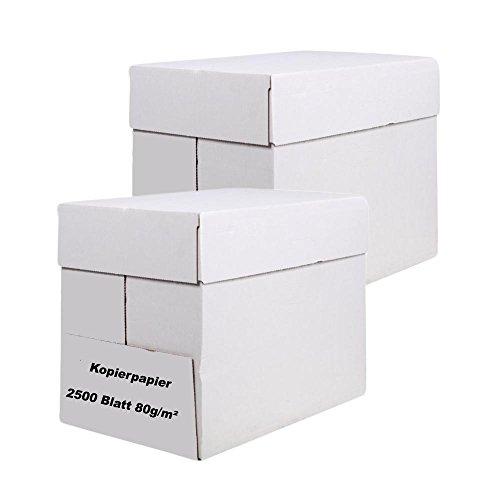 Universal Kopierpapier, DIN A 4, 5000 Blatt, 80g/m²