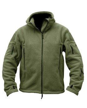 Herren Militär Army Combat Recon Hoodie US British Fleece Hoodies Sweat Shirt Zip Jacket Smock New (Sweatshirts Hoodie Benutzerdefinierte)
