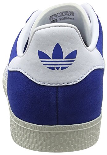 adidas-Gazelle-Zapatillas-Unisex-Nios-Azul-Blue-FT-White-Gold-Mt-38-23-EU