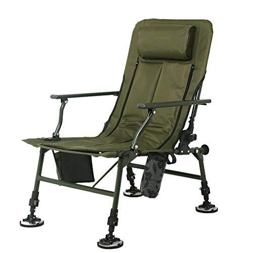 Chaises de pêche Chaise de Sport en Plein air Chaise de Plage Chaise de Directeur Chaise Pliante Chaise Portable Chaude en Hiver et fraîche en été Peut Supporter 300 kg Cadeau